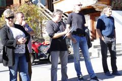 19 - Interessierte Zuhörer, Landbesitzer und Bänklisponsoren