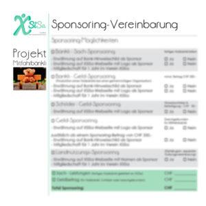XSiSa-Mitfahrbänkli - Sponsoringvereinbarung download